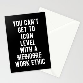 Inspirational - Iconic Level Quote Stationery Cards