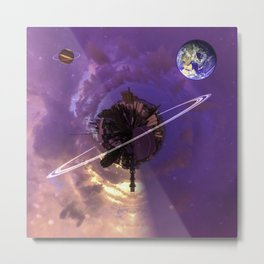 Gladstone Tiny Planet Series Metal Print