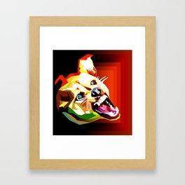 La Rrrage! Framed Art Print