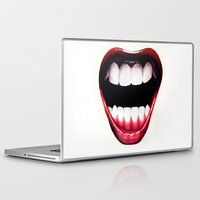 mouth Laptop & iPad Skins featuring Mouth by Shannon Gordy