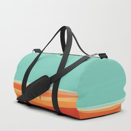 Where the sea meets the sky Duffle Bag