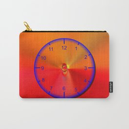 Clock face strong Carry-All Pouch