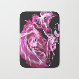 Lady in pink Bath Mat