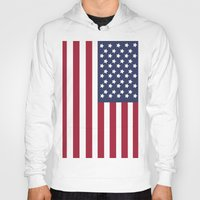 america Hoodies featuring America. by Jake  Williams
