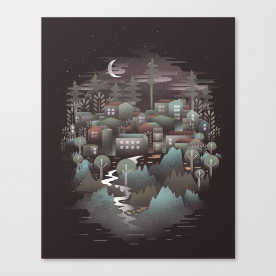 The North Canvas Print