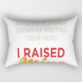 Firefighters Mom Rectangular Pillow