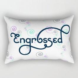 Engrossed Rectangular Pillow