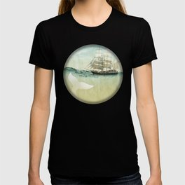 white tail, Moby Dick T-shirt