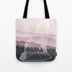 Geometric Nature - Fox (Full) Tote Bag