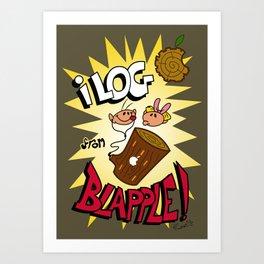 iLOG Art Print
