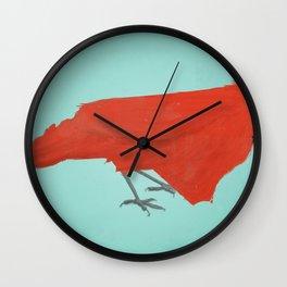 North Cardinalina Wall Clock