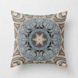 Star Flower of Symmetry 16 Throw Pillow