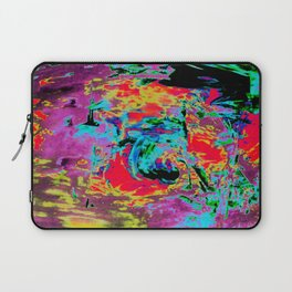 Retro Washing Machine Time Travel Laptop Sleeve