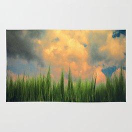 barley field Rug