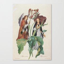 Beatific Botanical Canvas Print
