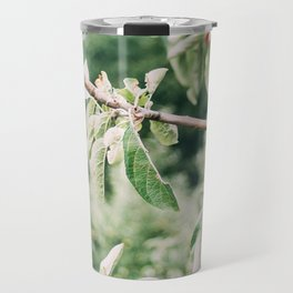 Red Apples In Orchard Tree Travel Mug