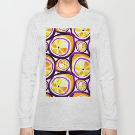 Sweet Plum Lemon Long Sleeve T-shirt