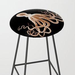 Octopus sea nautical beach coastal Bar Stool