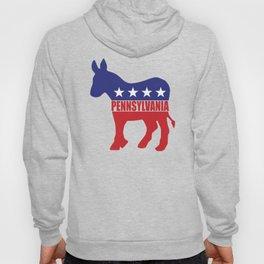 Pennsylvania Democrat Donkey Hoody