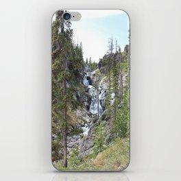 Yellowstone Waterfall iPhone Skin
