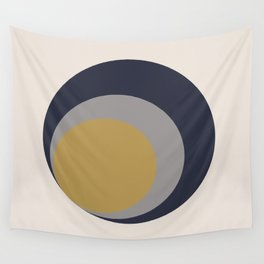 Inverted Circles Wall Tapestry