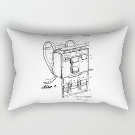 patent art Campiglia First Aid kit 1942 Rectangular Pillow