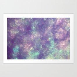 Irridescent Shimmer Art Print