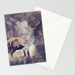 King of the Woods Stationery Cards