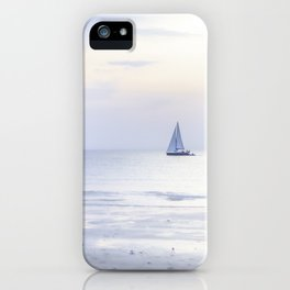 Another sunset on the North Sea... iPhone Case