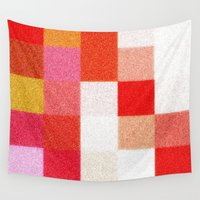 blanket Wall Tapestries featuring Blanket by Mr & Mrs Quirynen
