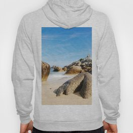 Lighthouse on Brittany Beach Hoody