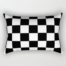 Checkered Rectangular Pillow