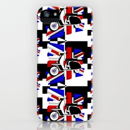 Scooter UK iPhone Case