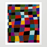 quilt Art Prints featuring Quilt  by Tuuli Holman