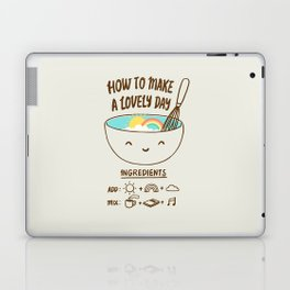 How to make a lovely day Laptop & iPad Skin