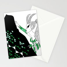 Capricorn / 12 Signs of the Zodiac Stationery Cards