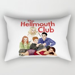 The Hellmouth Club Rectangular Pillow