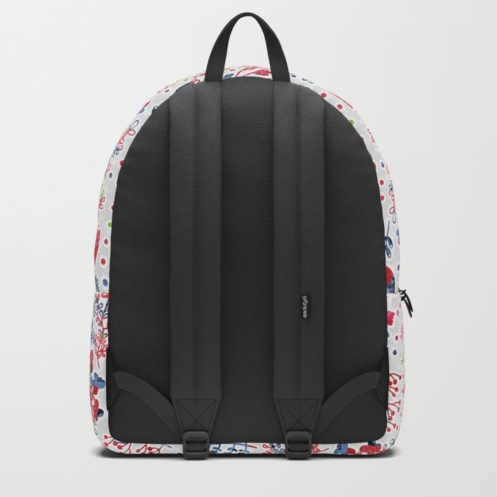 Berries Pattern 10 Backpack