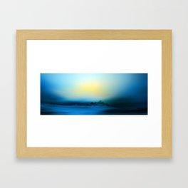 Blue Immensity Framed Art Print