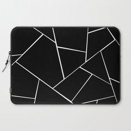 Black White Geometric Glam #2 #geo #decor #art #society6 Laptop Sleeve