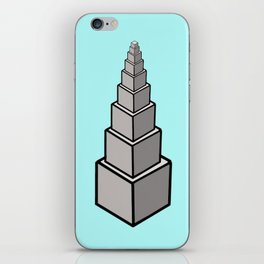 Cubic Tower iPhone Skin