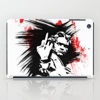 beethoven iPad Cases featuring Beethoven FU by viva la revolucion