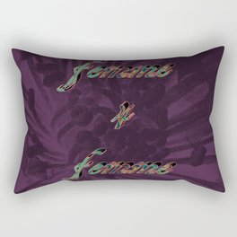 Femme 4 Femme II Rectangular Pillow