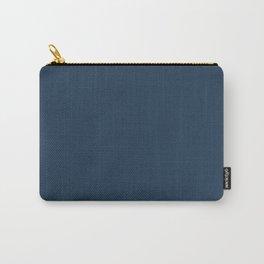 Best Seller Pratt and Lambert 2019 Noir Dark Blue 24-16 Solid Color - Single Shade Hue Carry-All Pouch