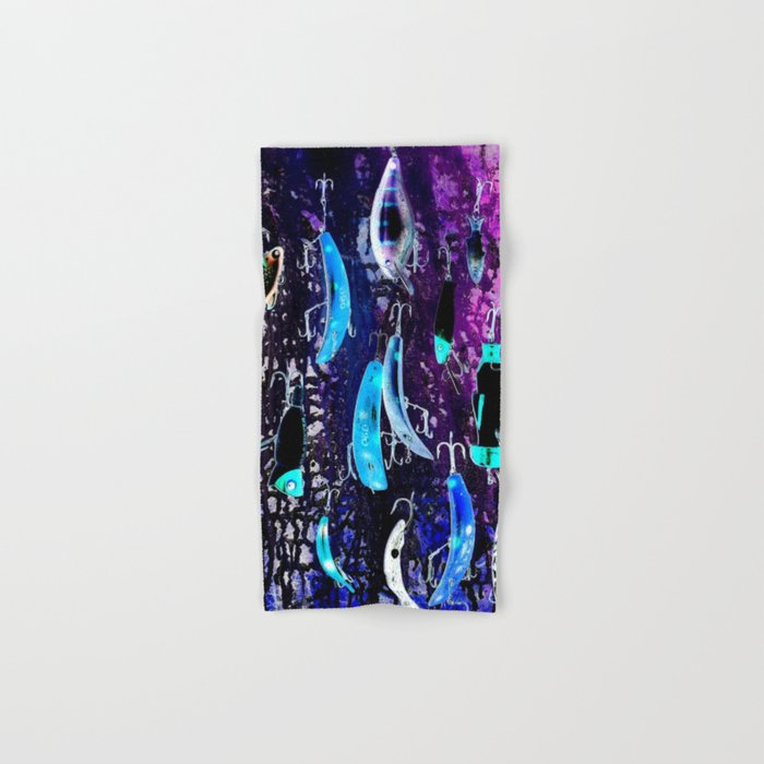 Midnight Lures Hand & Bath Towel