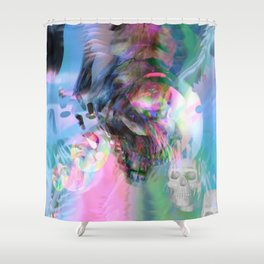 Immortality vs death Shower Curtain