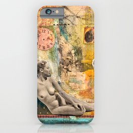 Remembering Much, But Not Getting Stuck in the Past  iPhone Case