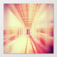 blur Canvas Prints featuring blur  by so_may