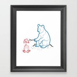 Da Bears - Camping Framed Art Print