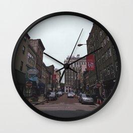 jewelers row Wall Clock